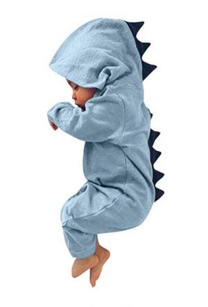 idea regalo per neonato, tutina a forma di dinosauro