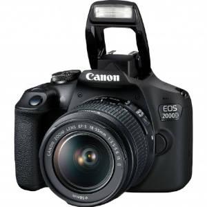flash fotocamera professionale canon eos 2000d