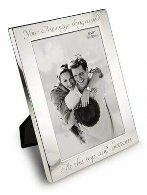 idea regalo per matrimonio, cornice personalizzata