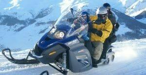 esperienza regalo, escursione in motoslitta