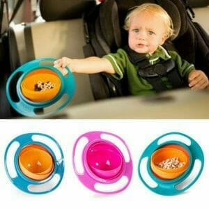 idea regalo per bambini, piatto magico anti ribaltamento