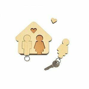 idee regalo matrimonio portachiavi da appendere