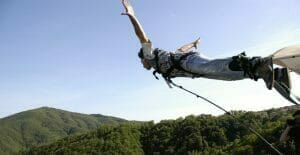 esperienze regalo, volo dell'angelo, bungee jumping