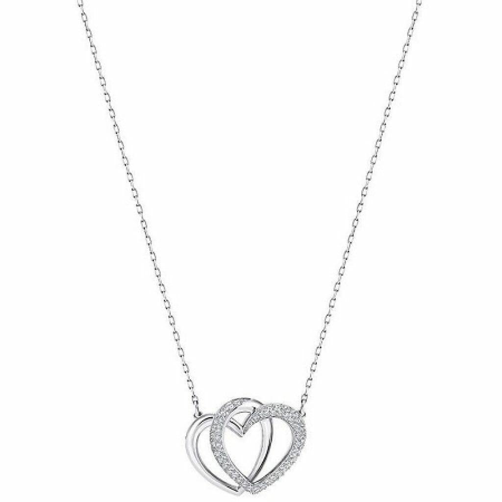 swarovski dear collana a forma di cuore