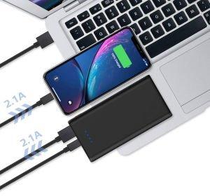 carica batterie portatile per smartphone e tablet