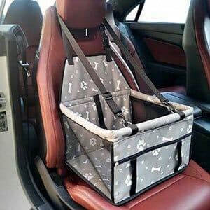 borsa per cani da auto, idea regalo amanti animali