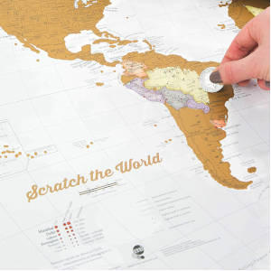 mappa da grattare idea regalo per amanti dei viaggi