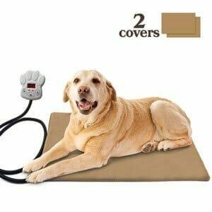 tappetino riscaldato per cani