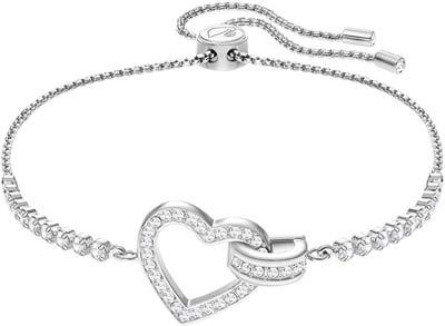 bracciale swarovski idea regalo per l'amante donna