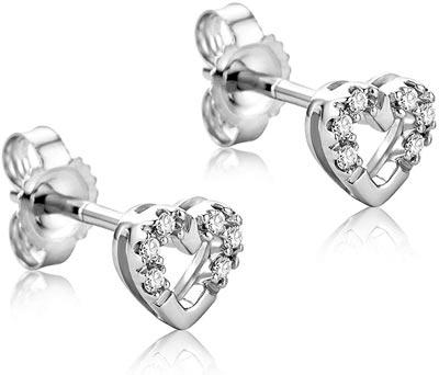 orecchini per amante donna in argento