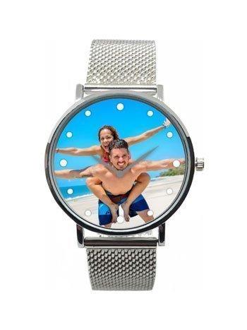 orologio con foto personalizzata