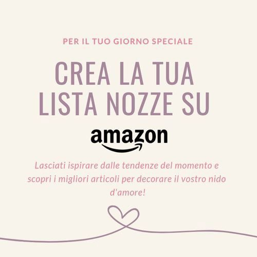 LISTA NOZZE AMAZON