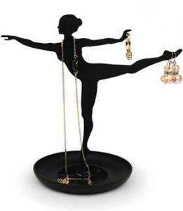 porta gioie a forma di ballerina