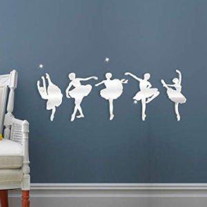 specchio a forma di ballerina idea regalo