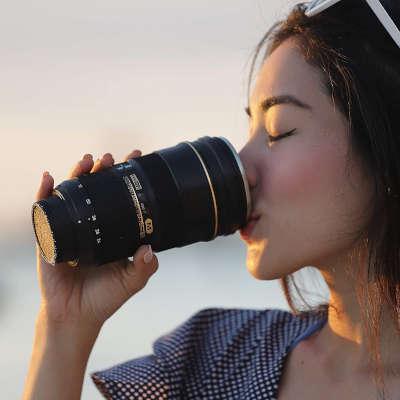 tazza teleobiettivo idee regalo fotografo