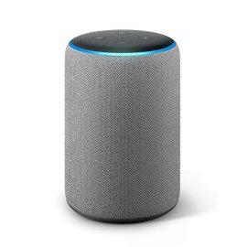 Echo Plus (2ª generazione) - Hub per Casa Intelligente integrato e suono di ottima qualità - Tessuto grigio mélange