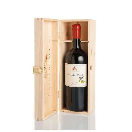 bottiglia di vino rosso idea regalo uomo 70 anni