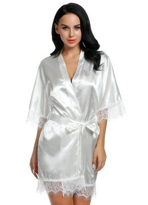 camicia da notte in raso idea regalo