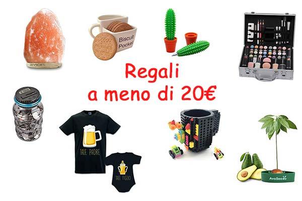 idee regalo a meno di 20 euro