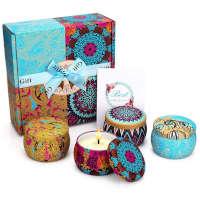 candele profumate set sotto i 20 euro
