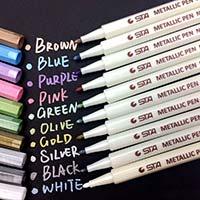 idea regalo sotto i 10 euro pennarelli metallici