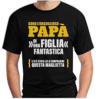 t-shirt da regalare al papà