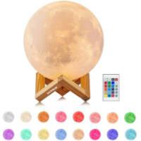 lampada a forma di luna idea regalo sotto i 30 euro