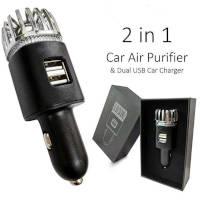 purificatore d'aria per auto 2 in 1