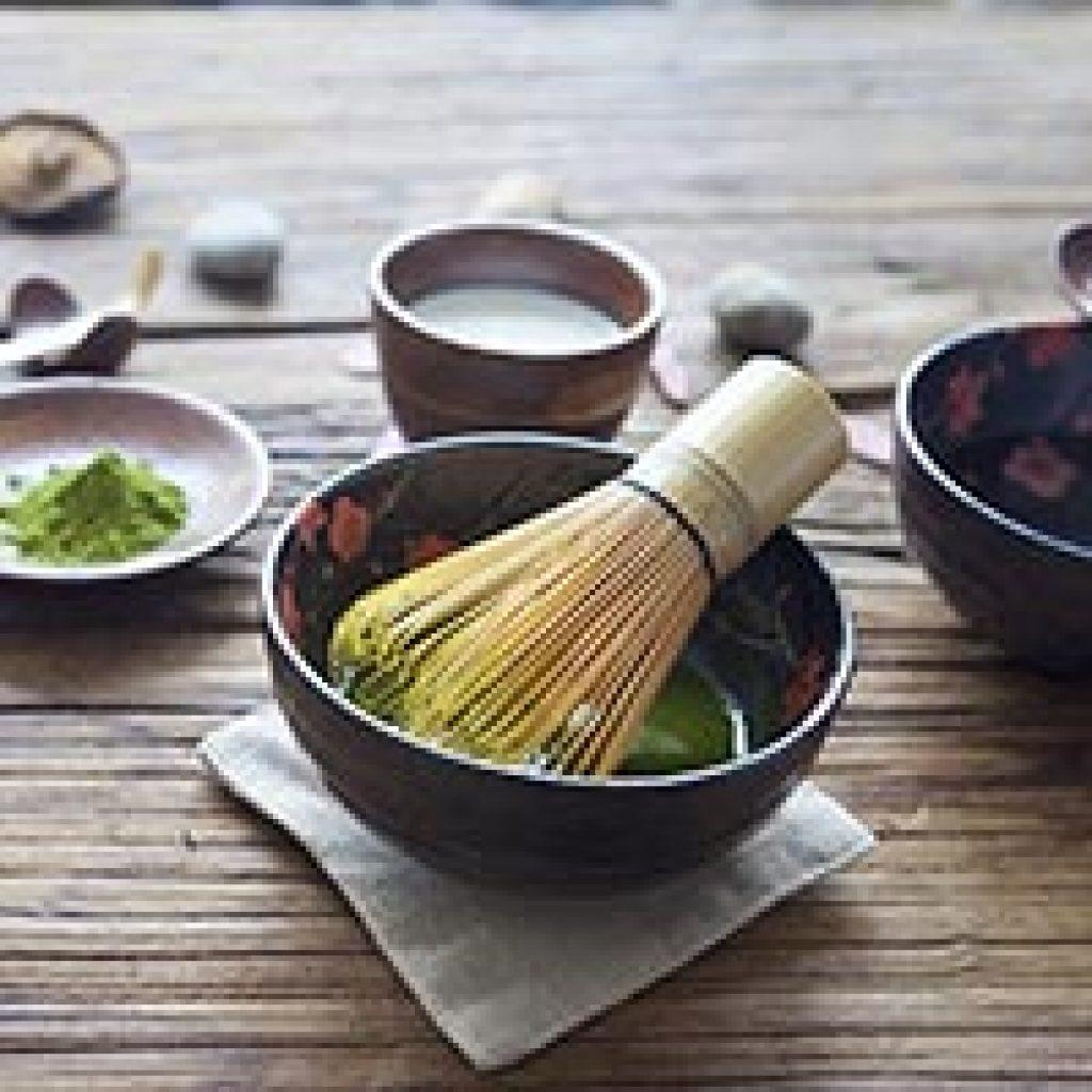set da tè in bambù idea regalo