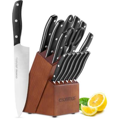 set coltelli per il papà che ama cucinare