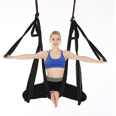 amaca da yoga per allenamento idea regalo