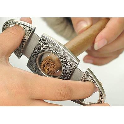 taglia sigari in acciaio inox ideale per amanti del sigaro