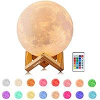 Lampada Lunare 3D idea regalo per la migliore amica