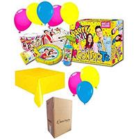 Zeus Party Me Contro Te Lui E SOFI' Coordinato per Compleanno Bambini ADDOBBI TAVOLA Festa