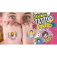 set di tatuaggi dei me contro te