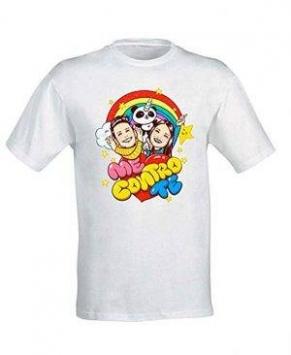 Idea regalo t-shirt me contro te