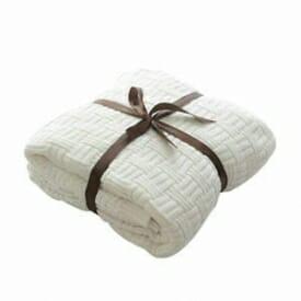 Calda coperta in cotone