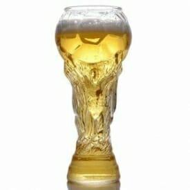 Bicchiere birra coppa del mondo