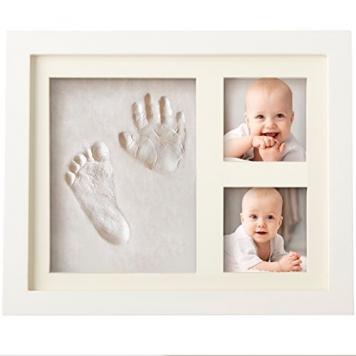 portafoto con impronta idea regalo battesimo