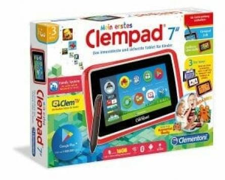 idea regalo bambini tablet clempad