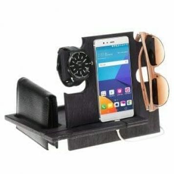 idea regalo per ufficio, porta oggetti orologio cellulare occhiali