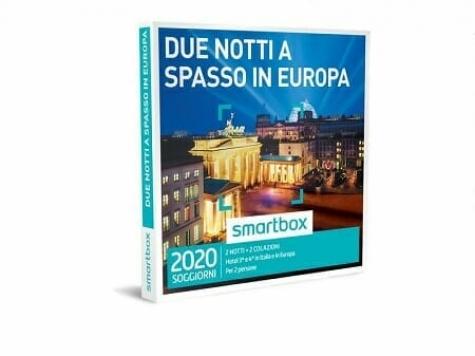 smartbox due notti a spasso in europa