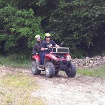idea regalo escursione in quad