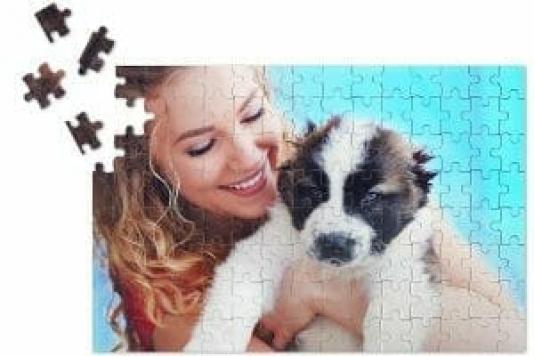idea regalo puzzle personalizzabile con foto