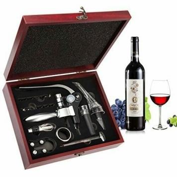 set per intenditori di vino e sommelier