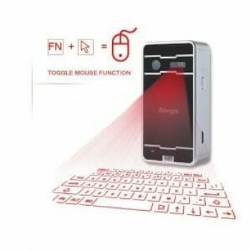idea regalo per amanti tecnologia, tastiera con proiettore