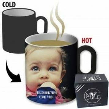 tazza personalizzata che cambia colore con la temperatura