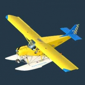 Volo con idrovolante